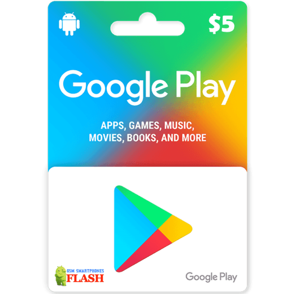 Google Play Gift Card 5USD (US)