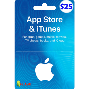 iTunes Gift Card 25 USD (US) Best Price