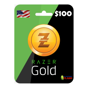 Razer Gold 100 USD Card Email Delivery (Rixty)