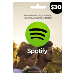 Spotify Gift Card 30 USD Email Delivery (US)