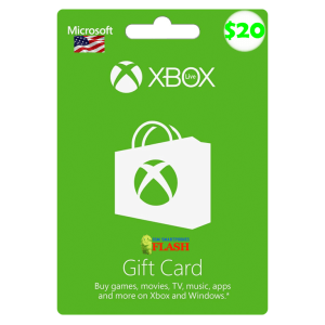 Xbox Live Gift Card 20 USD Email Delivery (US)