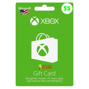 Xbox Live Gift Card 5 USD Email Delivery (US)