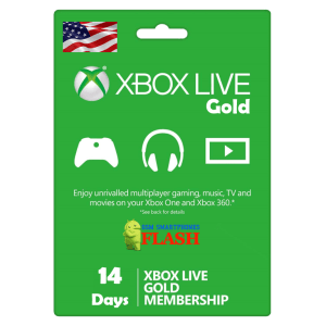 Xbox Live Gold 14 Days Membership (US)