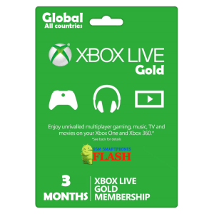 Xbox Live Gold 3 Months Membership (GLOBAL)