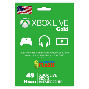 Xbox Live Gold 48 Hours Membership (US)