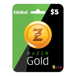 Razer Gold Global 5 USD Card Email Delivery (Rixty)