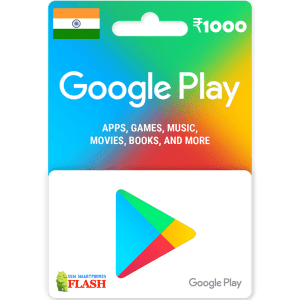 Google Play Gift Card 1000 INR (IN)