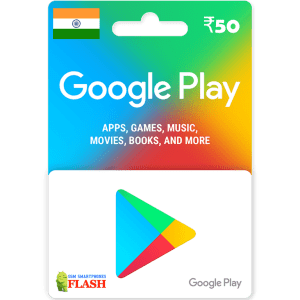 Google Play Gift Card 50 INR (IN)