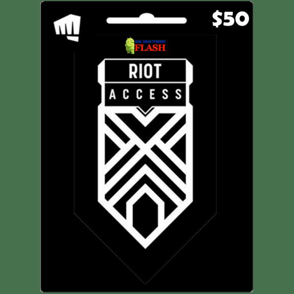 Riot Access Code 50 USD (US)