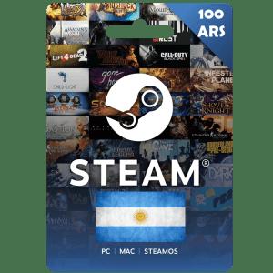 Steam Wallet Code 100 ARS (Argentina) Cheap