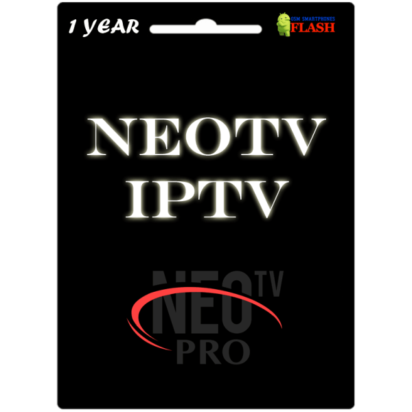Neo TV IPTV 1 Year Subscription (Cheap Price)
