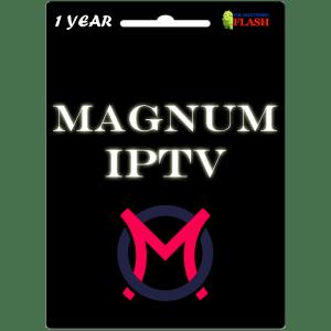 Magnum IPTV 1 Year Subscription (Cheap Price)