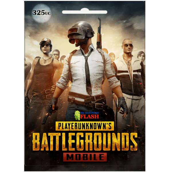 Pubg Mobile 325 UC Global Card (Best price)