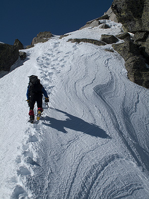Ultimos metros antes de la cumbre