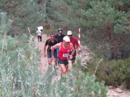 El GSM Mountain Races Team en el 2º avituallamiento