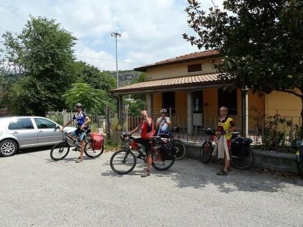 Domegliara-S.Ambrogio, Italia. Salimos en tren hacia Alemania (por Jaime)