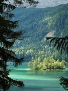 Lago Eibsee (por Pepe)