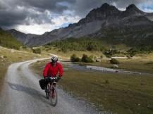 Tras pasar el Döss Radond, en Italia (por Javi)