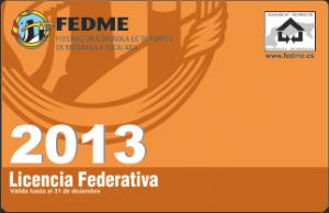 Licencia 2013
