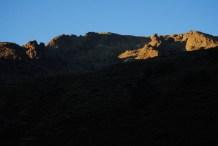 Amanecer desde el Refugio de la Redonda (Foto: Luis M. Villar)