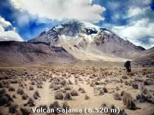 Volcán Sajama (6520m)