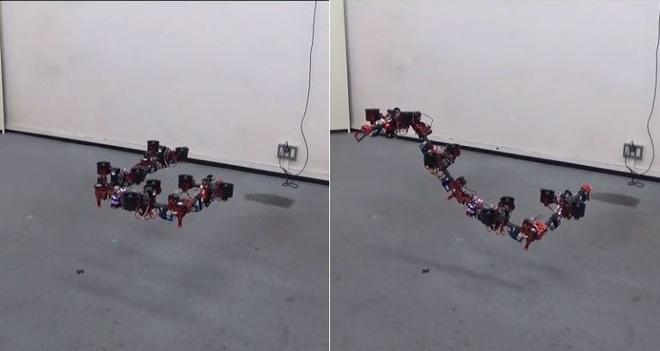 Làm drone chán rồi, người Nhật chế tạo hẳn robot rồng bay lượn uốn éo như phim - Ảnh 2.