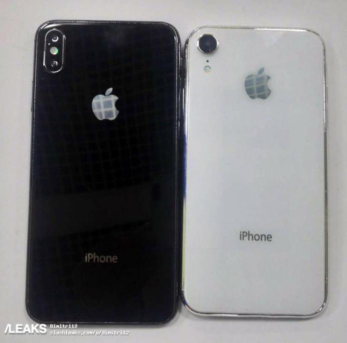 Phải chăng đây chính là iPhone X Plus và iPhone 2018?