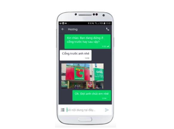 Grab cập nhật tính năng tin nhắn ảnh trong GrabChat - Ảnh 1.