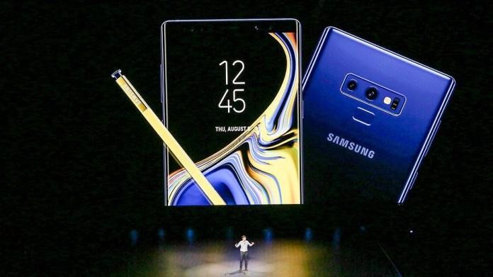 Can canh Samsung Galaxy Note 9 vua ra mat