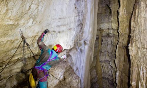 Grotta del Vento - Traverso