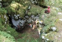Ingresso Grotta del Vento (Ago 2013)
