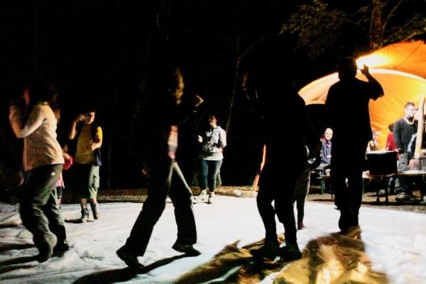 Campo Alburni 2014 - Serata con pizzica