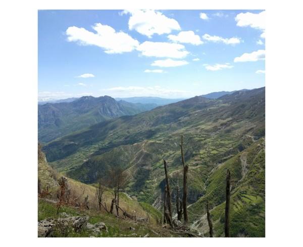 Il paesaggio montuoso delle Alpi Albanesi