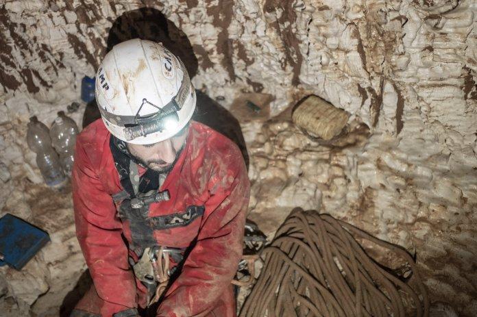 L'ultima saletta alla profondità di -285 metri