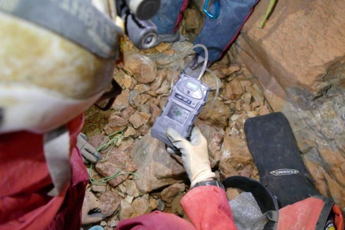 Shpella Shtares - analisi CO2