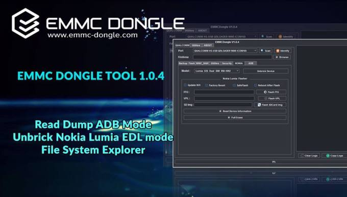 EMMC Dongle V1.0.4 Full Setup