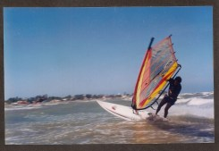 1998.05_Navegadas en Windsurf en Adícora. Duck Jibe