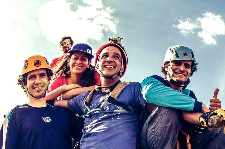 2014.04_Escalada del Morro de San Juan. Primera vez en Latinoamérica que se realiza una escalada de tal magnitud en esas condiciones físicas