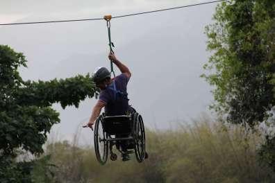 2016.07_ Tirolina sin límites junto a Climbing Venezuela