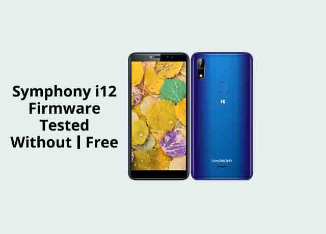 Symphony i12 Flash FIle Free
