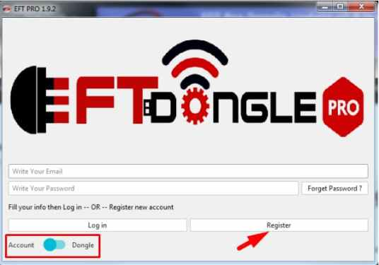 EFT Dongle Pro 3.4.1 Crack