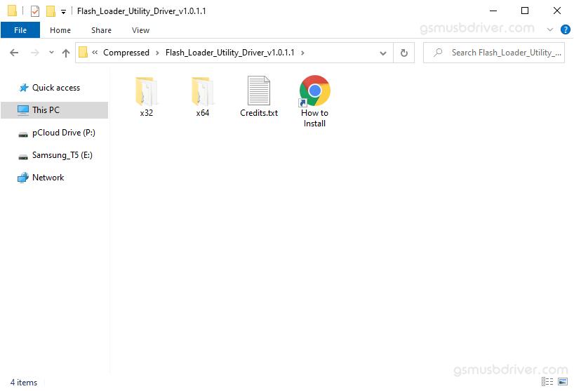 Flash Loader Utility Driver