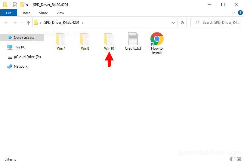 SPD Driver R4.20.4201 Folder