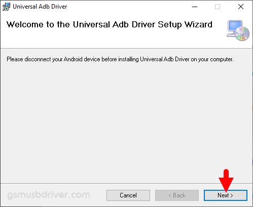 Universal ADB Driver Setup Next