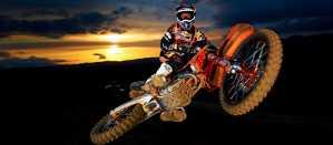 GSMXS Motocross Whip Sunset