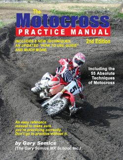 55 Absolute Motocross Techniques Training Manual front cover