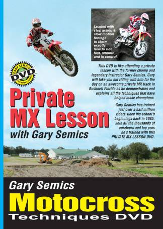 motocross Private Lesson