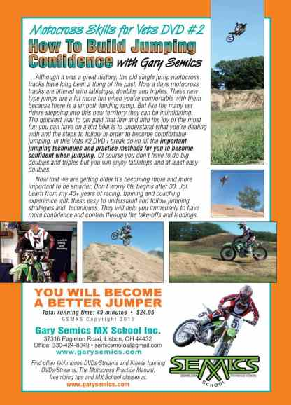 Motocross Skills for Vets 2 - Jumping Confidence
