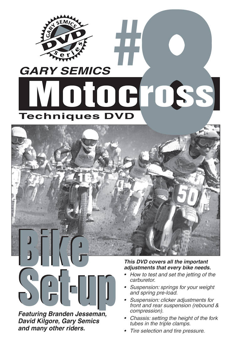 Motocross Bike Setup - Make your bike fit you like a glove!