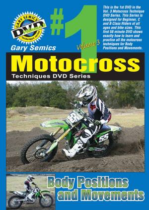 Motocross Body Positions Movements